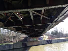 Blasting and painting of bridges