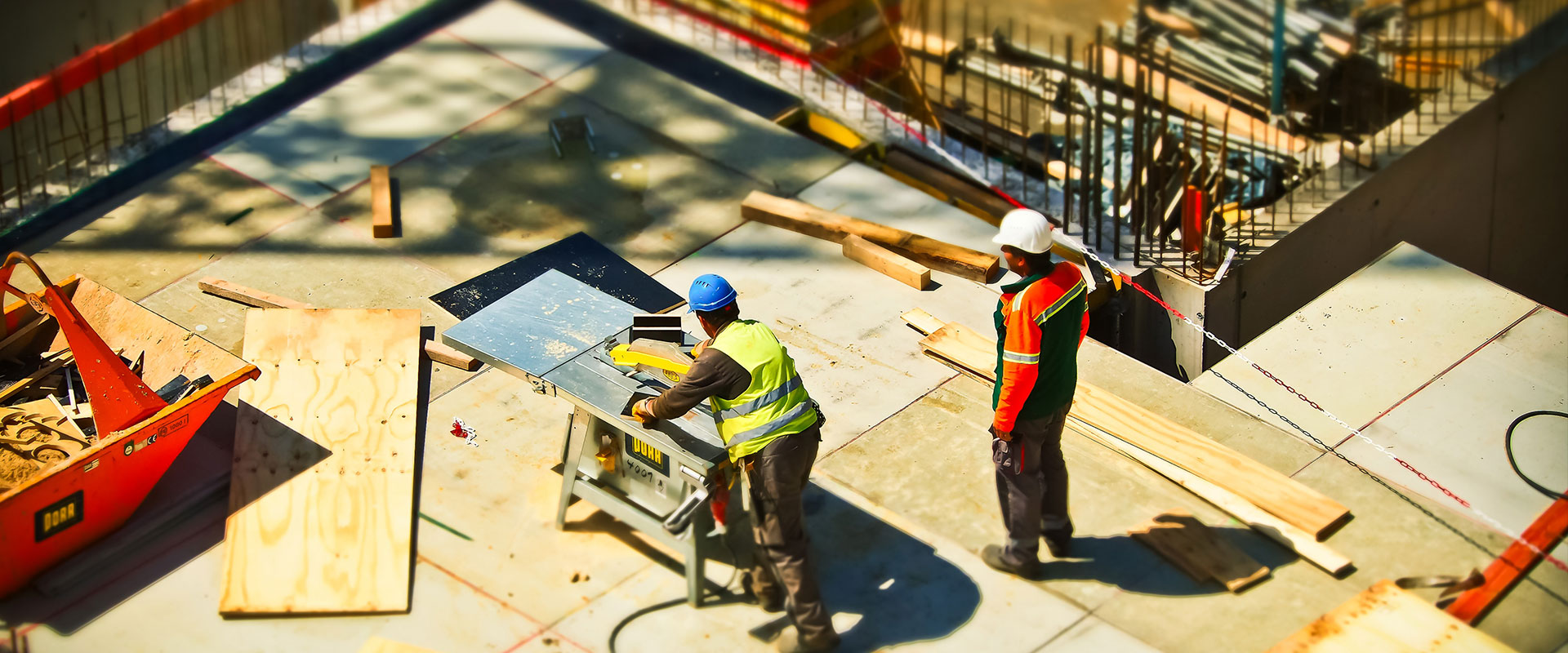 Consulting, planning and execution of civil constructions